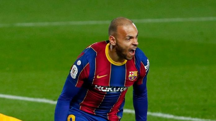 Martin Braithwaite - formerly of Middlesbrough - put Barcelona into the Copa Del Rey final with an extra-time winner to beat Sevilla