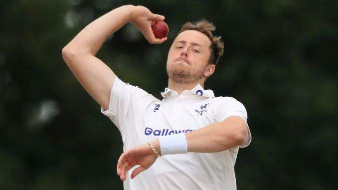 Ollie Robinson is hoping to make a flying start for Sussex in the County Championship