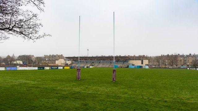 Edinburgh Accies Ground, Raeburn Place