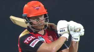 Jonny Bairstow scored fifty as the Sunrisers earned their first IPL win of the 2021 season over the Punjab Kings |  Cricket news