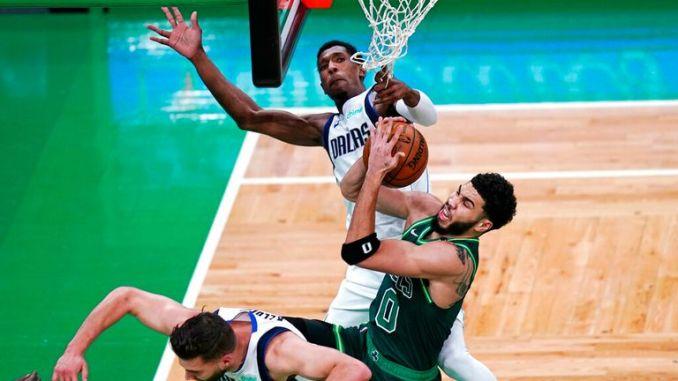 AP - Mavericks Celtics