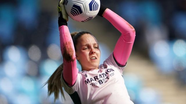 Ellie Roebuck says she will fully focussed on the forthcoming England games