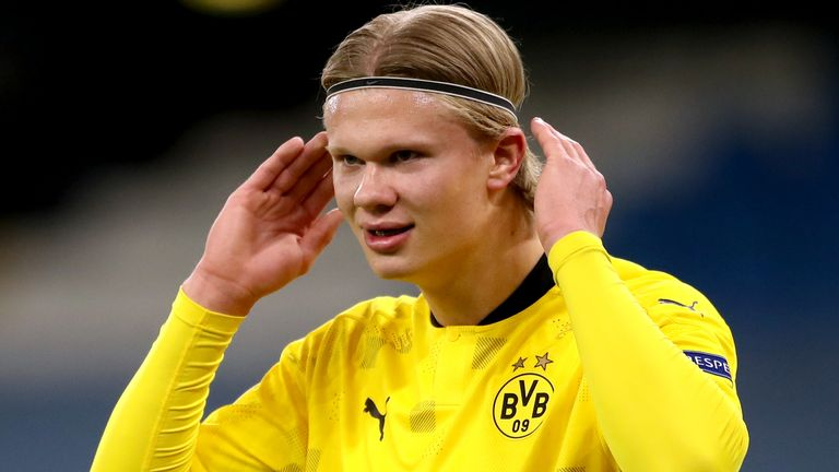 Erling Haaland has scored 49 goals in his first 52 games for Borussia Dortmung