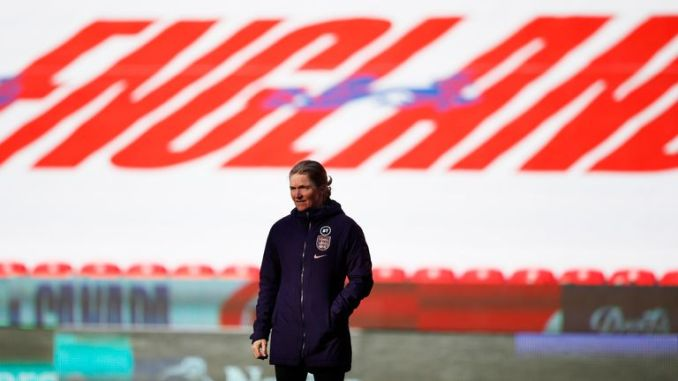 England head coach Hege Riise is confident her side are moving in the right direction