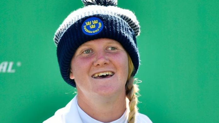 Ingrid Lindblad has carded rounds of 73 and 70 over the first two rounds