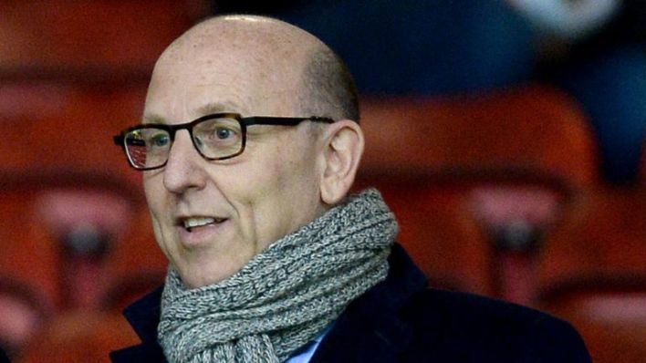 Manchester United joint chairmen Joel Glazer (right) and Avram Glazer (left) in the stands during the Barclays Premier League match at Old Trafford, Manchester.