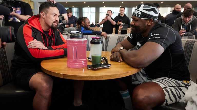 Parker and Chisora ate breakfast together on Thursday
