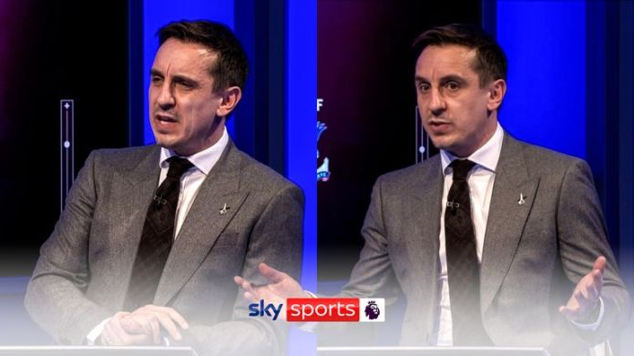 Gary Neville discusses Arsenal's lacklustre performance against Liverpool.