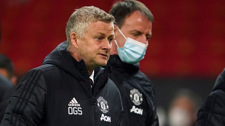 Ole Gunnar Solskjaer played a strong side despite the suspended trio