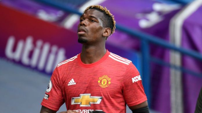 Paul Pogba only received a brief cameo during the standoff