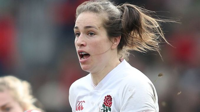 England's Emily Scarratt will skipper the Red Roses against Scotland in what will be her 93rd international cap