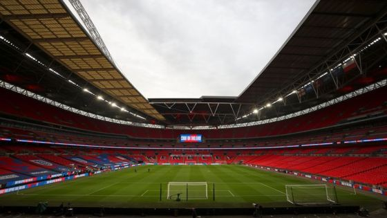 Fans will return to Wembley in limited numbers later in April