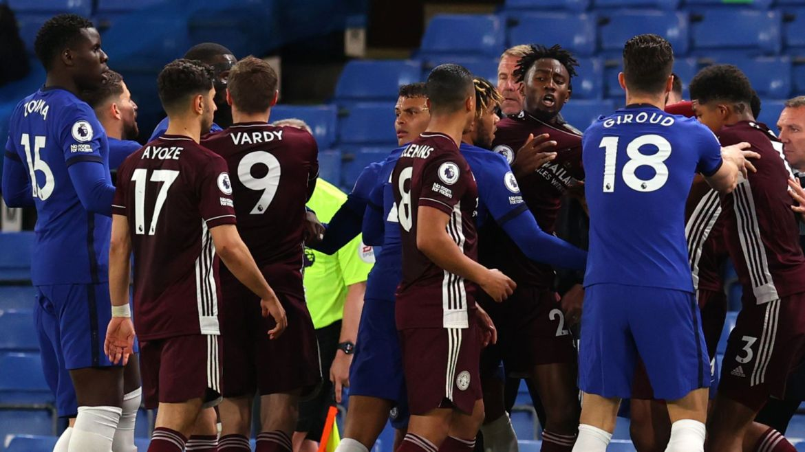 FA charges Chelsea and Leicester following Premier League game on Tuesday  night | Football News | Sky Sports