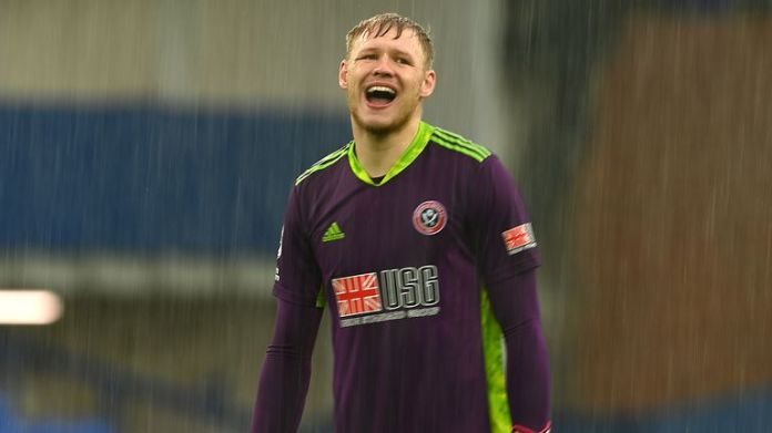 Aaron Ramsdale was in inspired form to resist Everton's attempt to comeback