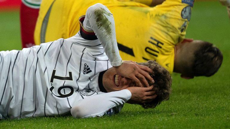 AP - German player head injury