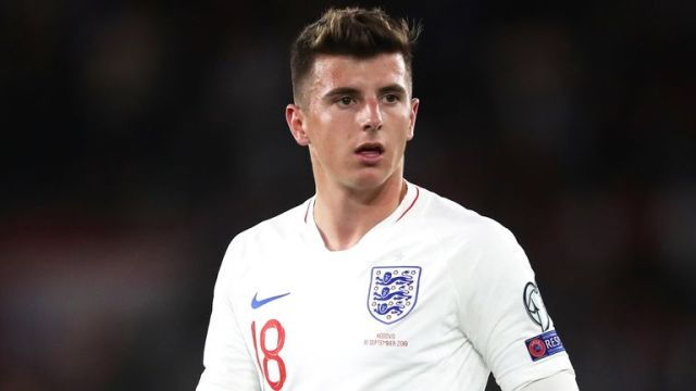 England's Mason Mount during the UEFA Euro 2020 qualifying, Group A match at St Mary's, Southampton. PA Photo. Picture date: Tuesday September 10, 2019. See PA story SOCCER England. Photo credit should read: Adam Davy/PA Wire. RESTRICTIONS: Use subject to FA restrictions. Editorial use only. Commercial use only with prior written consent of the FA. No editing except cropping.
