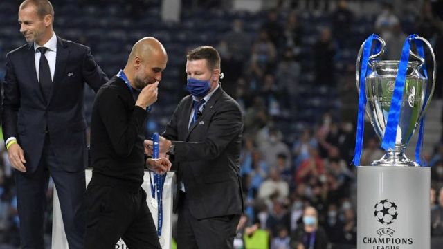 Pep Guardiola missed out on a third title