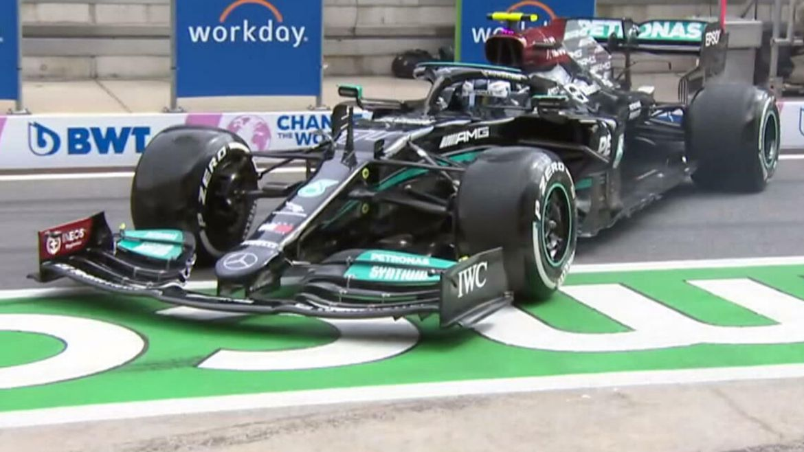 Valtteri Bottas given three-place Styrian GP grid penalty for 'dangerous' spin in F1 pit lane   F1 News