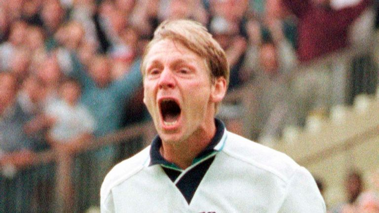 Stuart Pearce was among the vocal leaders in the Venables' Euro 96 squad