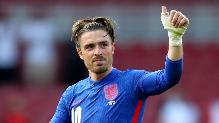 Jack Grealish impressed for England against Romania