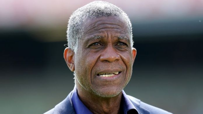 England v New Zealand - Second LV= Insurance Test - Day Two - Edgbaston Former West Indies cricketer Michael Holding commentating for Sky Sports before day two of the Second LV= Insurance Test match at at Edgbaston, Birmingham. Picture date: Friday June 11, 2021.