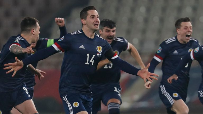 Scotland's confidence has soared since the side qualified for Euro 2020 - their first major tournament for 23 years