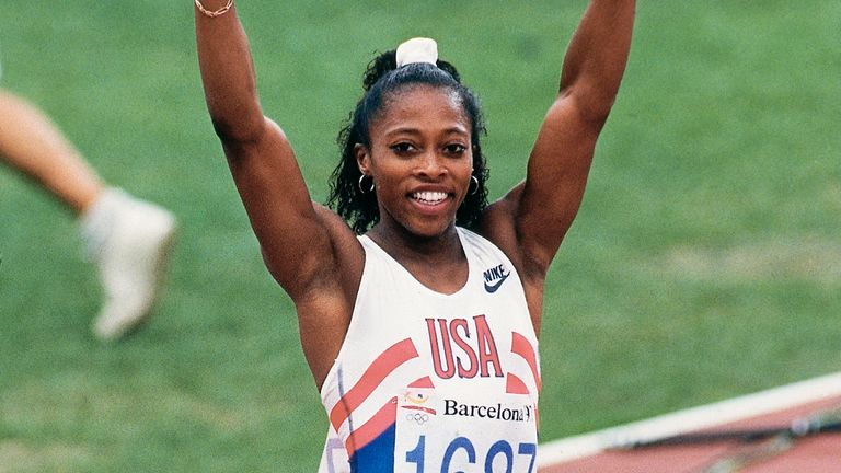 Devers won her first Olympic gold in Barcelona in 1992