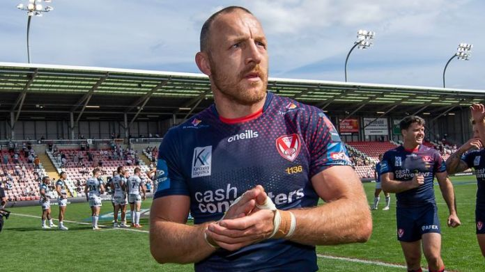 James Roby is playing on for a 19th season with St Helens