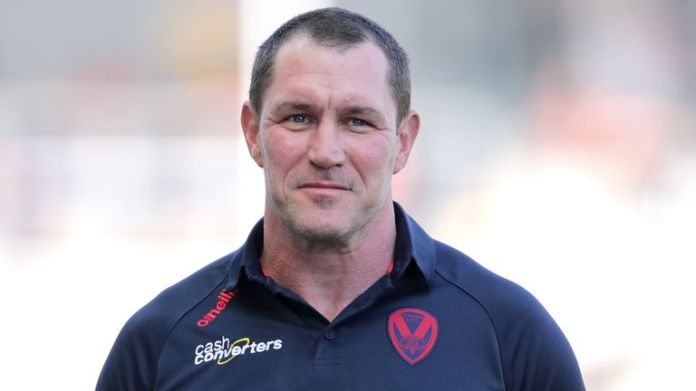 St Helens head coach Kristian Woolf will experience his first Challenge Cup final at Wembley this weekend