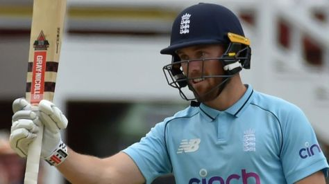 Phil Salt cracked a maiden ODI fifty, from 41 deliveries