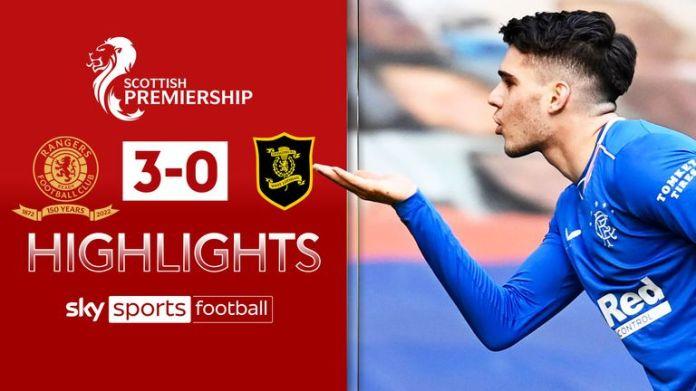 Rangers 3-0 Livingston Highlights