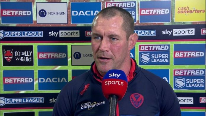 St Helens coach Kristian Woolf believed his side did not show enough discipline in their defeat to Castleford Tigers and thought Tommy Makinson's red card 'seemed harsh'