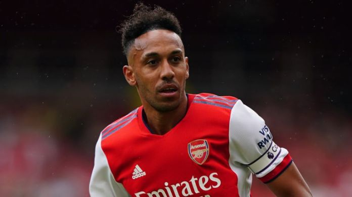Pierre Emerick-Aubameyang returned to training this week following a bout of Covid