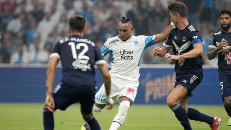 Dimitri Payet scores Marseille's second goal