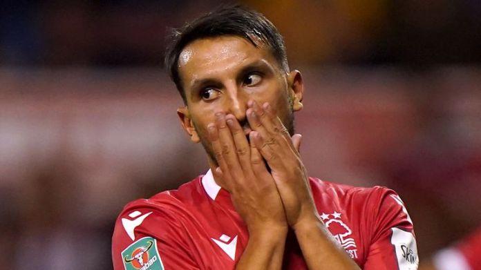 Joao Carvalho's double saw Nottingham Forest through against Bradford