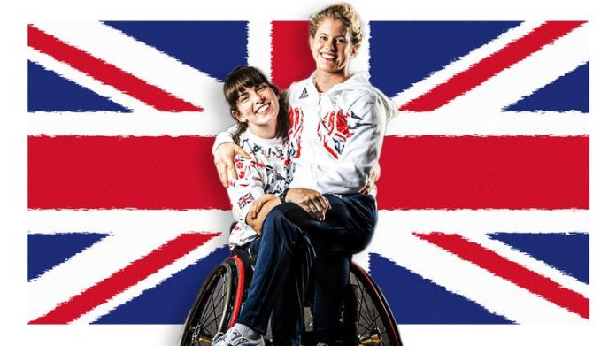Laurie Williams and Robyn Love are team-mates and partners within the 12-strong Great Britain women's wheelchair basketball squad at the Paralympics