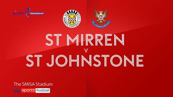 St Mirren v St. Johnstone