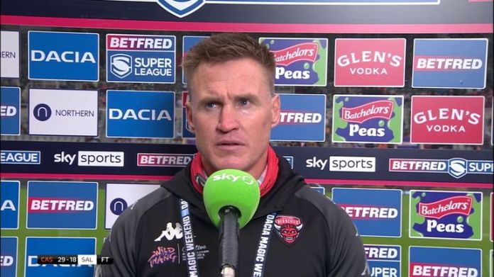 Salford coach Richard Marshall says there were plenty of positives to take from the defeat to Castleford