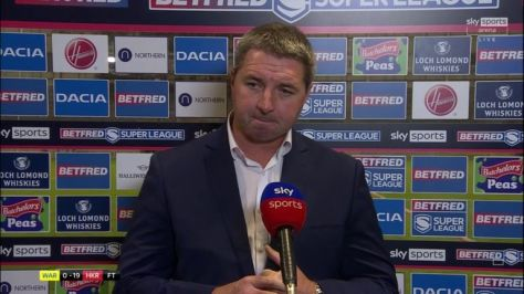 Warrington Wolves coach Steve Price called his side's performance 'unacceptable' after losing to Hull KR in the Super League play-offs