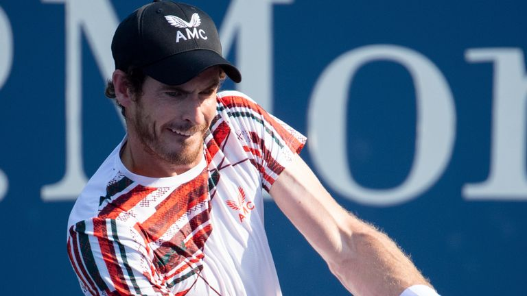 Andy Murray sealed a comfortable opening win at the Rennes Open Challenger event on Monday (Pete Staples/USTA)
