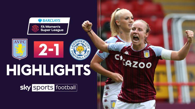 WSL: Aston  Villa v Leicester