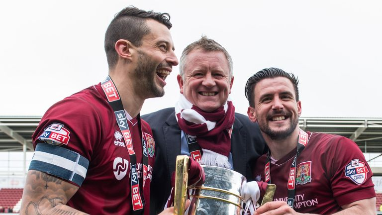 The 53-year-old had previously lifted the Sky Bet League Two title with Northampton in 2016