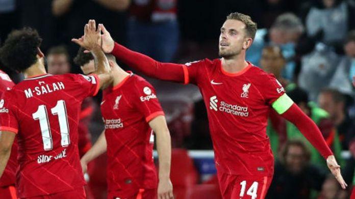 Jordan Henderson hammered Liverpool back in front