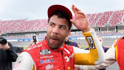 Bubba Wallace has become the first African-American winner of a premier series NASCAR race since 1963