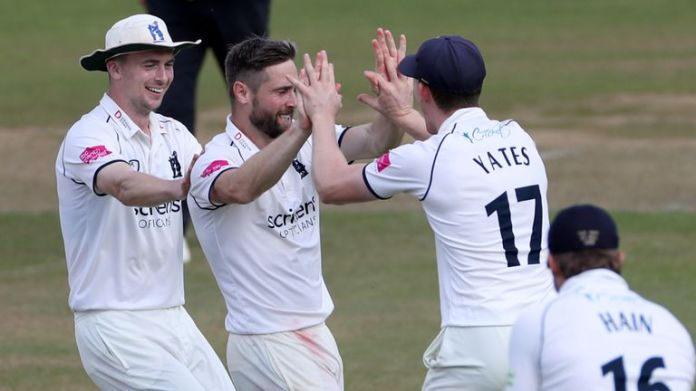 Woakes helped Warwickshire to win the County Championship title last month