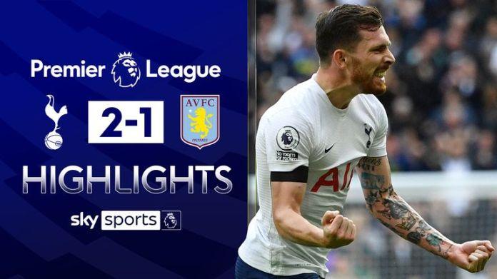 Spurs beat Villa to end losing run