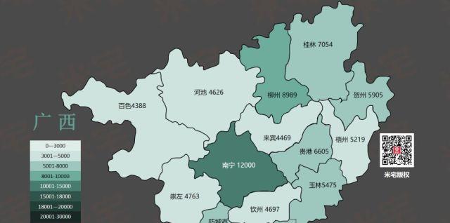 中国318个地级市房价,全部都在这里 35