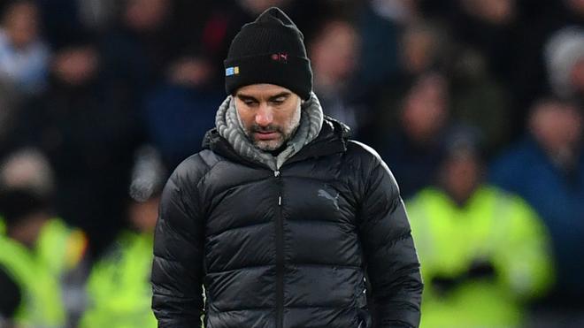 Josep Guardiola, Manchester City coach.