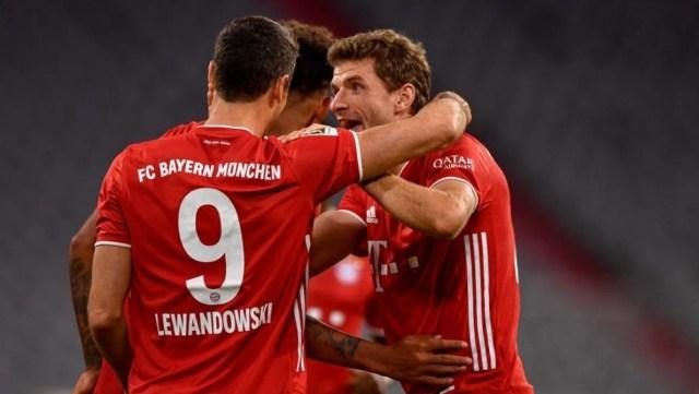 Bayern Munich 4-3 Hertha Berlin: Un espectacular poker de Robert  Lewandowski rescata al Bayern Munich | MARCA Claro Colombia