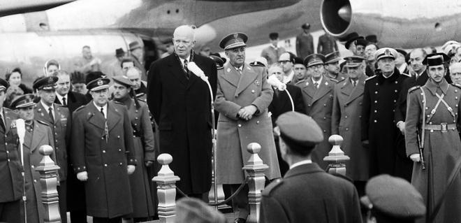 El primer franquismo: entre el nazismo y nacionalcatolicismo (1936-1957)